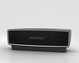 3D model of Bose SoundLink Mini 2 Carbon