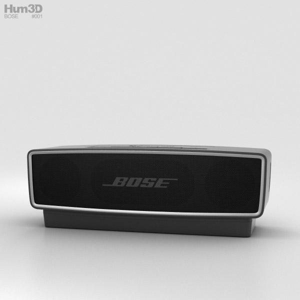 Bose SoundLink Mini 2 Carbon 3D model