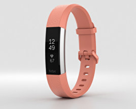 3D model of FitBit Alta HR Coral