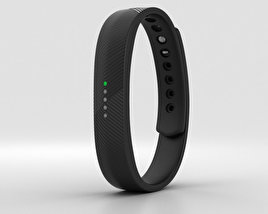 3D model of Fitbit Flex 2 Black
