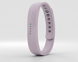 3D model of Fitbit Flex 2 Lavender