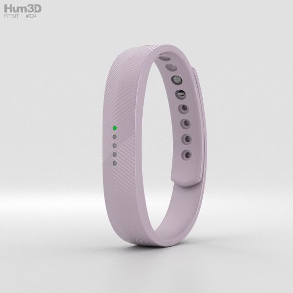 Fitbit Flex 2 Lavender 3D model
