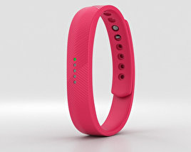 3D model of Fitbit Flex 2 Magenta
