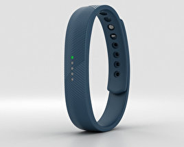 3D model of Fitbit Flex 2 Navy
