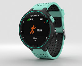 3D model of Garmin Forerunner 235 Frost Blue