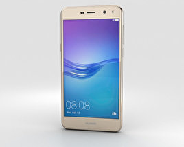 3D model of Huawei Y6 Gold