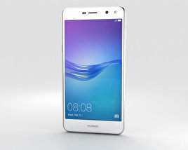 3D model of Huawei Y6 White