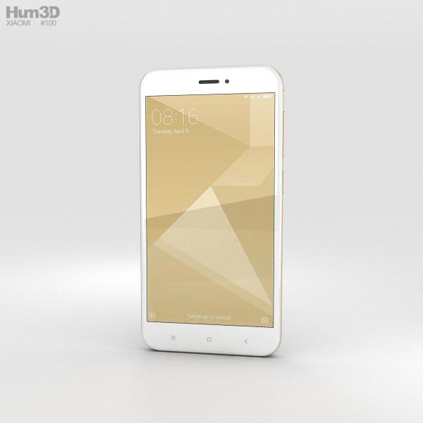 Xiaomi Redmi 4X Gold 3D model