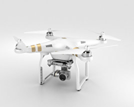 3D model of DJI Phantom 3 Professional