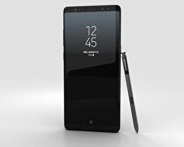 Samsung Galaxy Note 8 Midnight Black 3D model