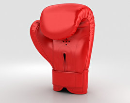 3D model of Boxing Gloves