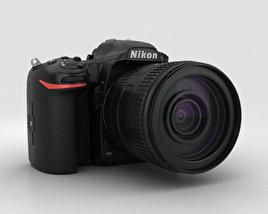 3D model of Nikon D500