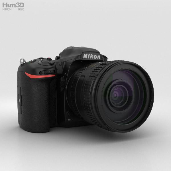 Nikon D500 3D model