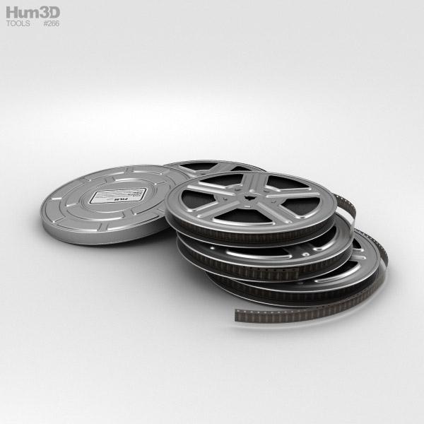 3D model of Video Film Reel