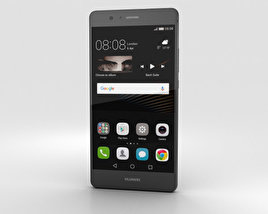 Huawei P9 Lite Black 3D model
