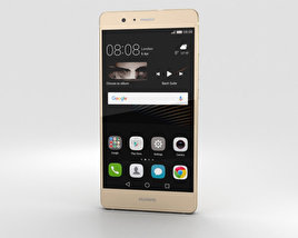 3D model of Huawei P9 Lite Gold