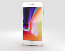 Apple iPhone 8 Plus Gold 3D model