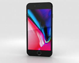Apple iPhone 8 Plus Space Gray 3D model