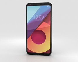 LG Q6 Black 3D model