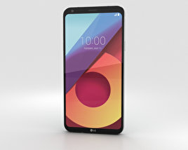 3D model of LG Q6 Ice Platinum