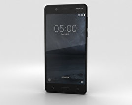 3D model of Nokia 5 Matte Black