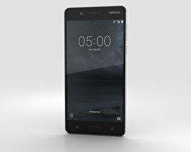 3D model of Nokia 5 Silver