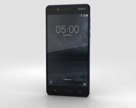 Nokia 5 Tempered Blue 3D model
