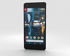 3D model of Google Pixel 2 Clearly White