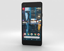 3D model of Google Pixel 2 Just Black