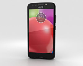 3D model of Motorola Moto E4 Licorice Black