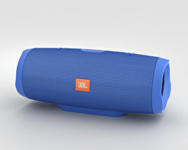 3D model of JBL Charge 3 Blue