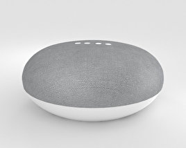 3D model of Google Home Mini Chalk