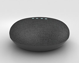 3D model of Google Home Mini Charcoal