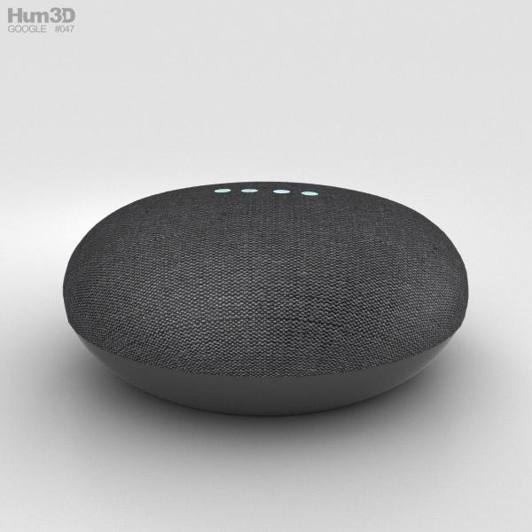 Google Home Mini Charcoal 3D model
