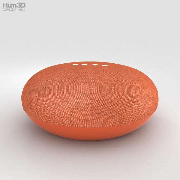 Google Home Mini Coral 3D model