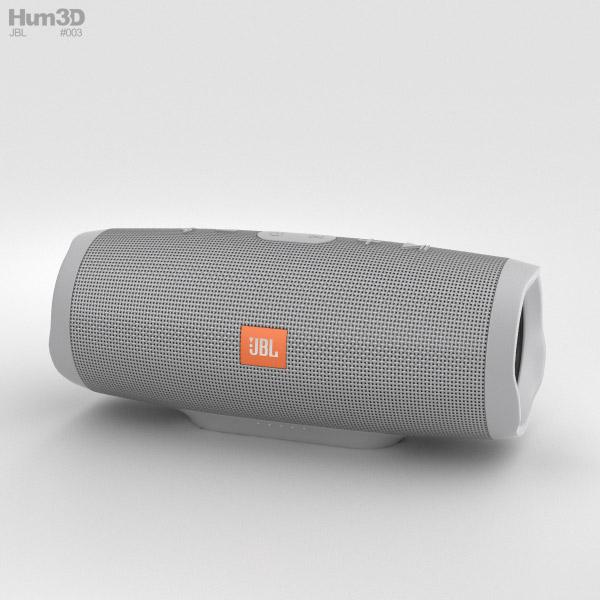 JBL Charge 3 Grey 3D model