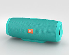 3D model of JBL Charge 3 Teal