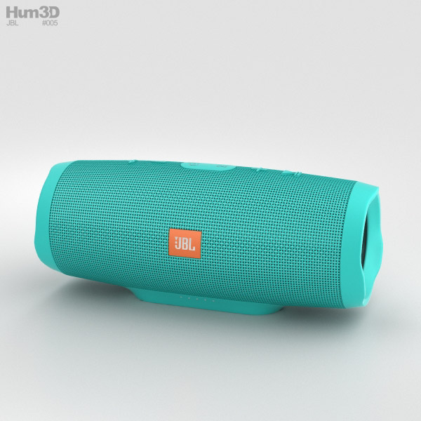 JBL Charge 3 Teal 3D model