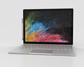 Microsoft Surface Book 2 13.5-inch 3D model