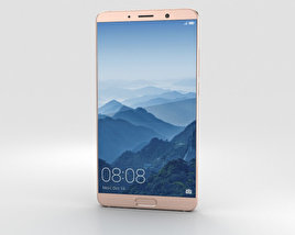 3D model of Huawei Mate 10 Pink Gold