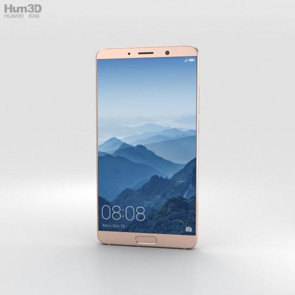 Huawei Mate 10 Pink Gold 3D model
