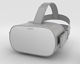 3D model of Oculus Go