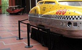 3D model of Fifth element taxi