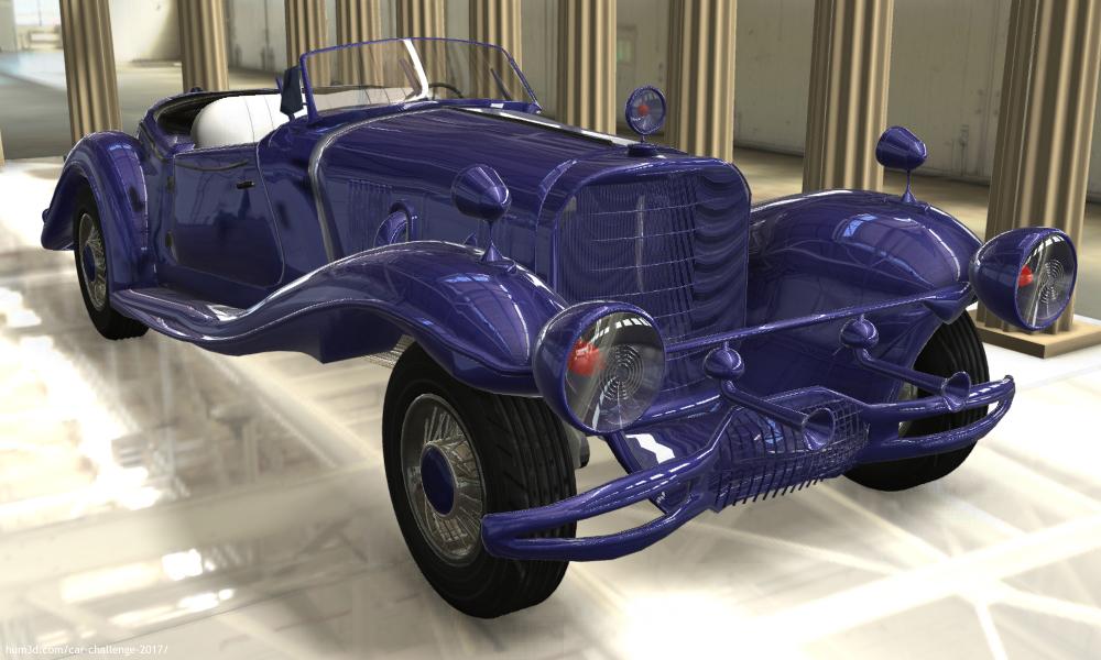 Queen of Cars 3d art