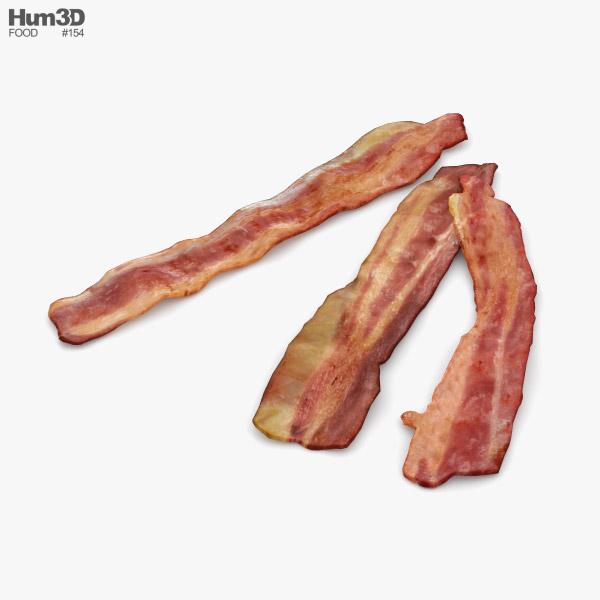 3D model of Fried Bacon