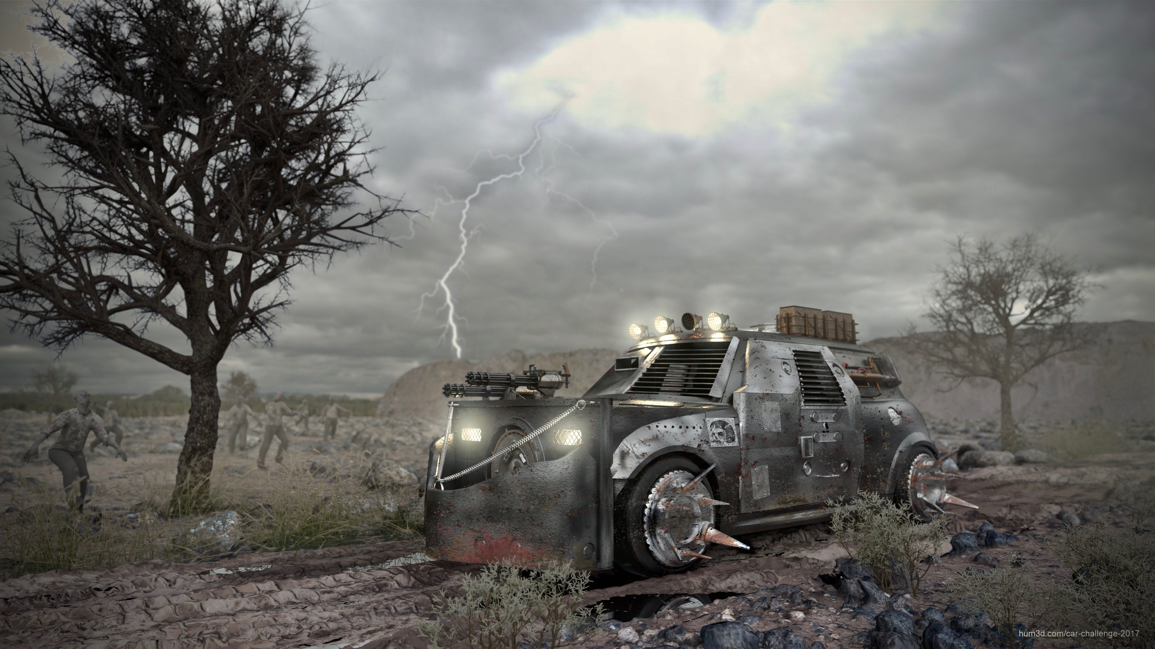 Apocalypse 3d art