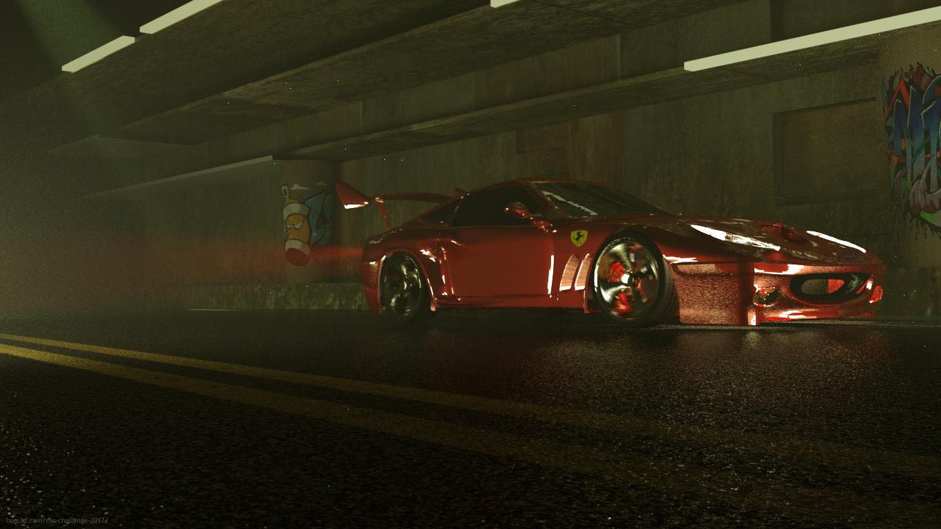 Speed capture 3d art