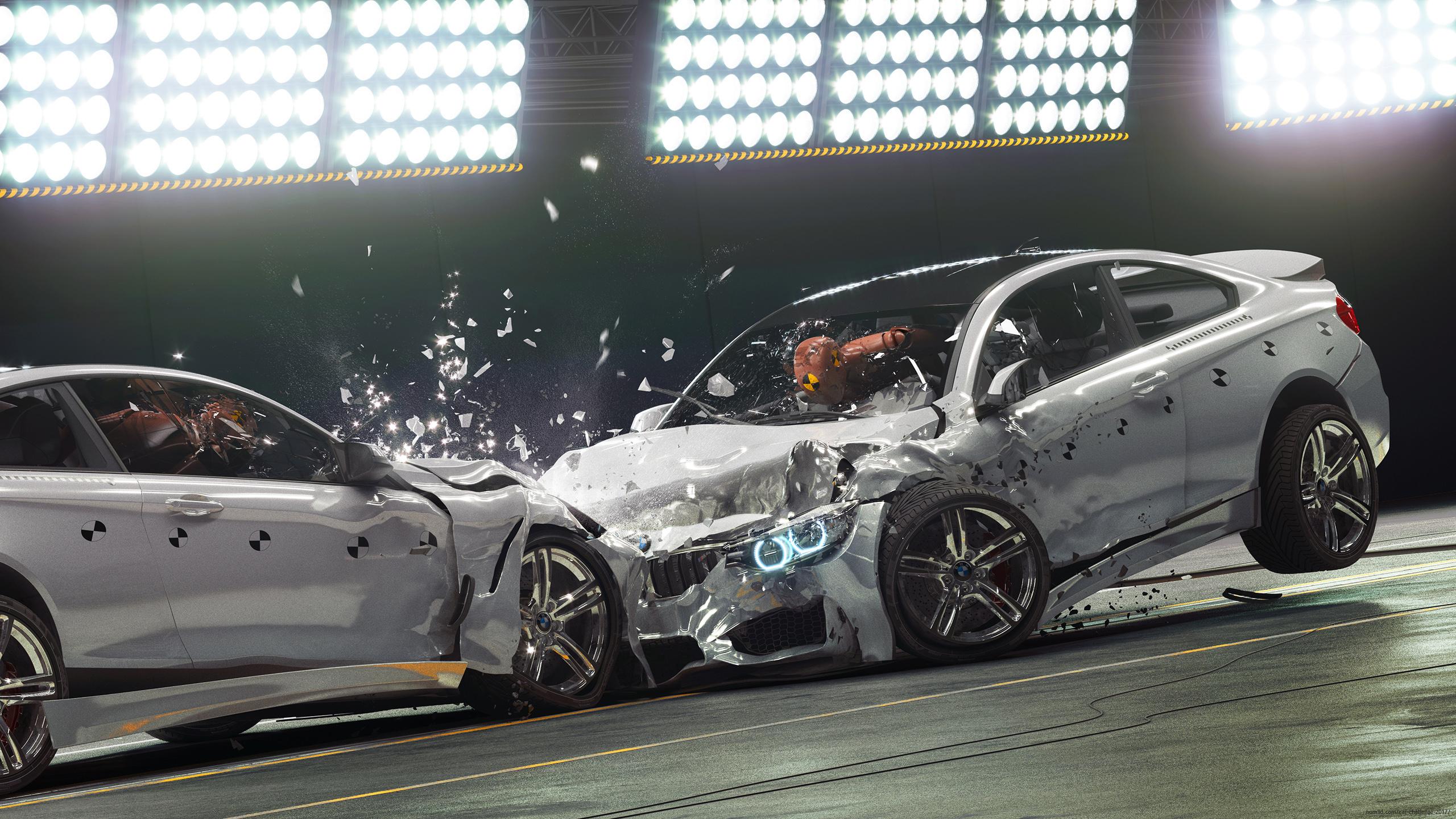 BMW M4 Coupe 3d art