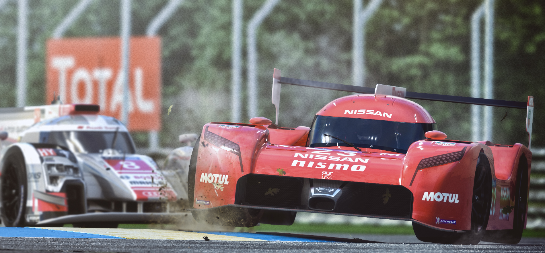 Nissan GT-R LM Nismo 3d art