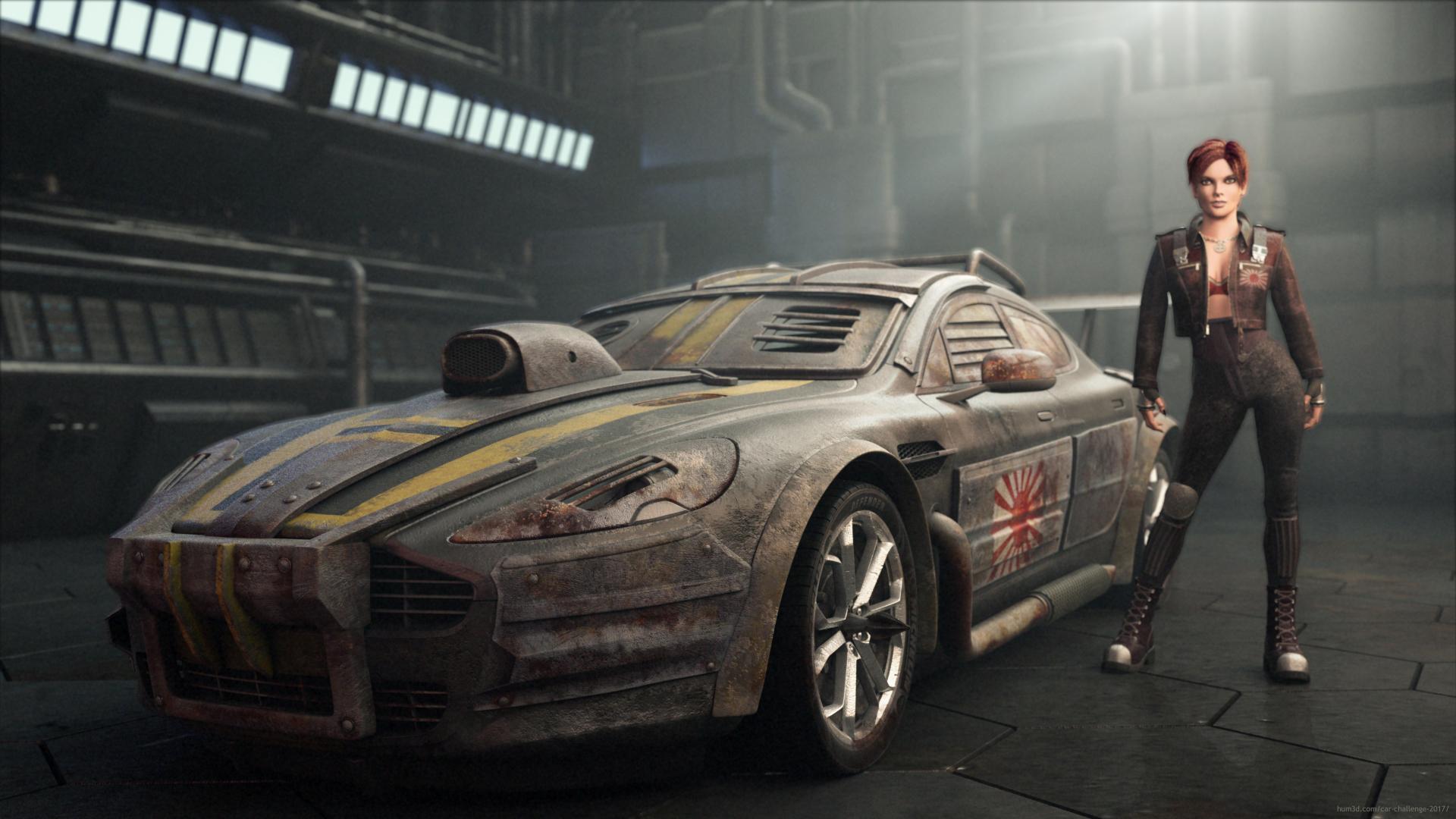 Aston War Machine 3d art